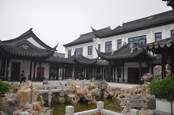 北京华彬.江南锦-铝包木门窗(仿古)案例