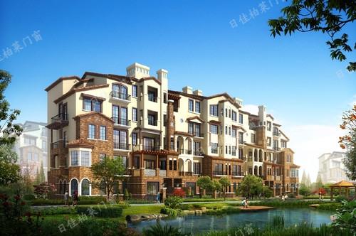 河北保定香江东湖印象-铝包木门窗案例