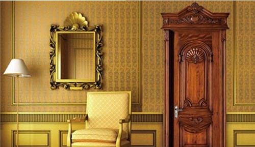 棕色欧式风格木门装修效果图