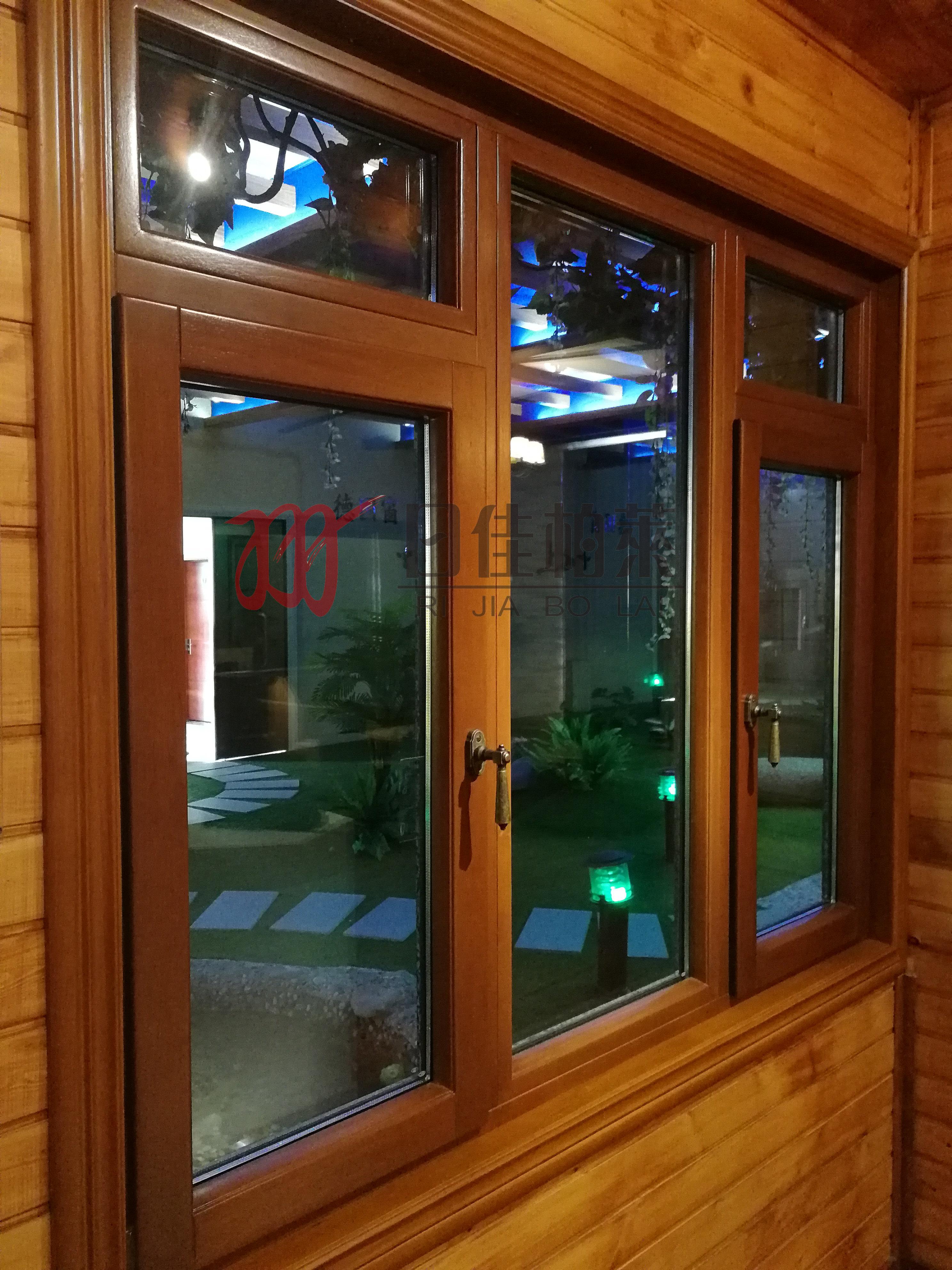 铝包木门窗清洗