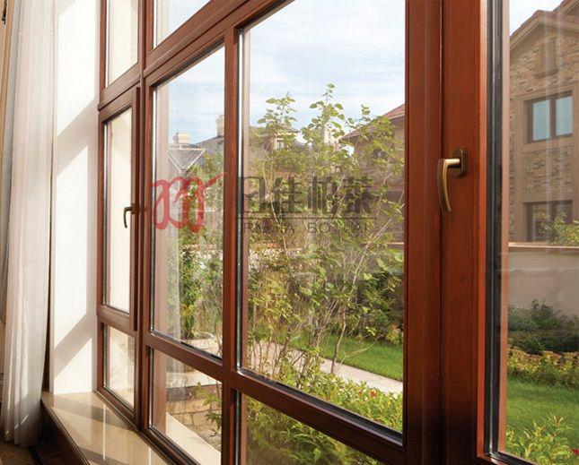 日佳柏莱铝包木门窗多少钱一平