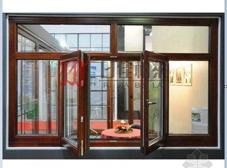 为什么铝包木门窗可以防雾霾